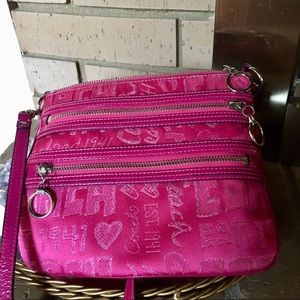 COACH POPPY crossbody bag. Hot pink
